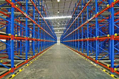 Tips on design a warehouse layout, including staging areas